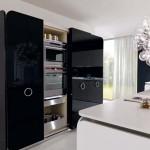 جدیدترین طرح های کابینت آشپزخانه ( ام دی اف و های گلاس ) - مدل کابینت MDF high Gloss 34