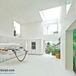 جدیدترین طرح های کابینت آشپزخانه ( ام دی اف و های گلاس ) - مدل کابینت MDF high Gloss 2