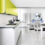 جدیدترین طرح های کابینت آشپزخانه ( ام دی اف و های گلاس ) - مدل کابینت MDF high Gloss 41