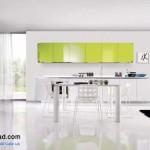 جدیدترین طرح های کابینت آشپزخانه ( ام دی اف و های گلاس ) - مدل کابینت MDF high Gloss 42