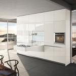 جدیدترین طرح های کابینت آشپزخانه ( ام دی اف و های گلاس ) - مدل کابینت MDF high Gloss 52