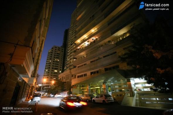 طرح نمای آپارتمان مسکونی تجاری ( مجتمع مسکونی )