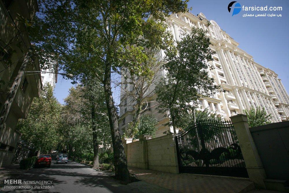 قیمت آپارتمان در تهران ویلا