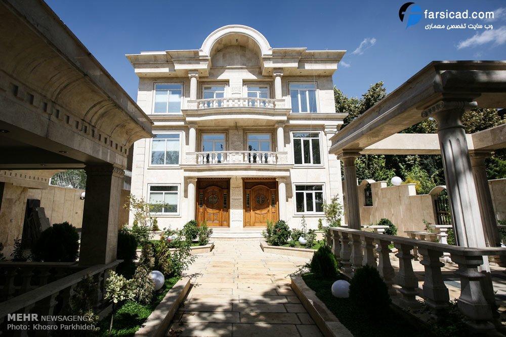 عکس+خانه+ثروتمندان+تهران