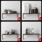 دانلود مجموعه آبجکت های تزئینات آشپزخانه ، حال، پذیرایی و اتاق خواب - Evermotion Archmodels Vol 134 2
