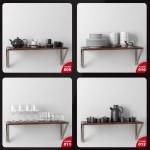 دانلود مجموعه آبجکت های تزئینات آشپزخانه ، حال، پذیرایی و اتاق خواب - Evermotion Archmodels Vol 134 3
