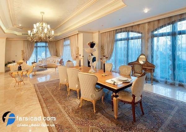 طراحی داخلی ، طراحی دکوراسیون ایرانی ، مبلمان - معماری داخلی