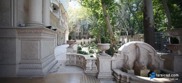 محوطه سازی - حیاط سازی - طراحی محوطه - طراحی حیاط