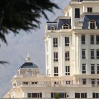مجتمع مسکونی - طراحی نمای سنگی - نمای آپارتمانی - نمای ساختمان ، نمای کلاسیک - نمای مدرن