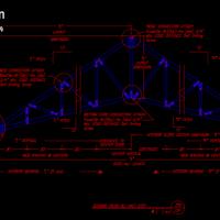 دانلود مجموعه دتایل خرپا و سوله اجرایی ( نقشه سقف و ستون های سوله ...دتایل خرپا - دتایل سوله - سازه فضاکار - دیتیل - دتایل معماری - دتایل سازه