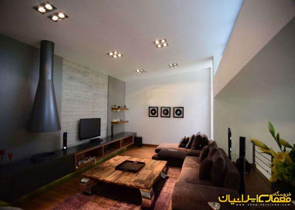 نمای داخلی ویلایی - نمای داخلی مسکون - دکوراسیون ایرانی - نشیمن - مبلمان - دکوراسیون منازل ایرانی