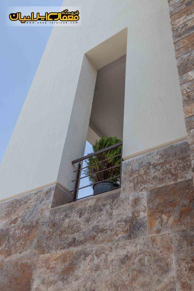 نمای ویلا - طراحی نمای ویلایی - نمای سنگی ویلایی - نمای ویلای کلاسیک - نمای رومی ویلایی