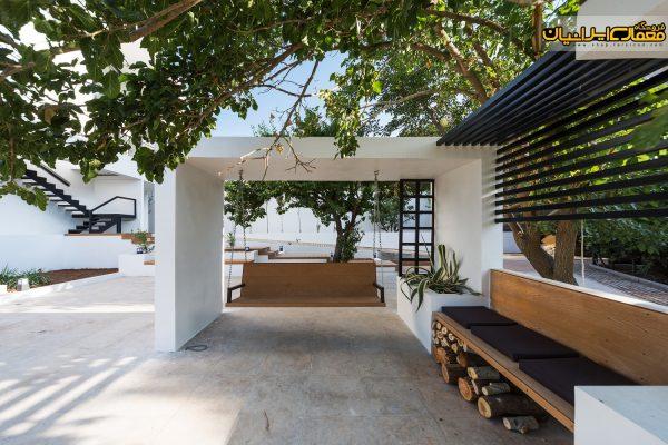 نمای ویلای مدرن - نمای ساختمان ویلایی - نمای ویلا - طرح ویلا - ویلای اجرا شده در شمال