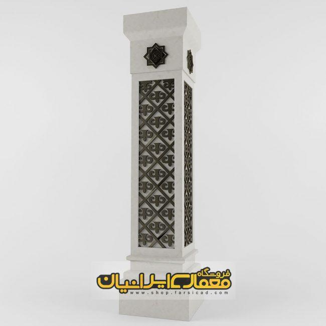 ستون نمای رومی - ستون نمای ساختمان - نمای ستون داخل ساختمان - ستون سنگ نما - ستون سنگی نما - طراحی ستون نما - سرستون نما کلاسیک