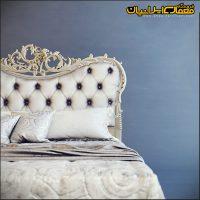 تخت خواب کلاسیک جدید - تخت خواب کلاسیک دونفره - تخت خواب کلاسیک سفید - مدل سه بعدی تخت خواب - آبجکت تخت خواب - تخت خواب 2نفره کلاسیک - آبجکت کلاسیک