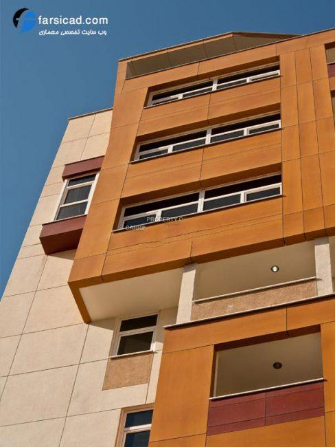 نما با چوب ترمود - نما چوبی ساختمان - نما های چوبی - نمای چوبی - نمای ترکیبی