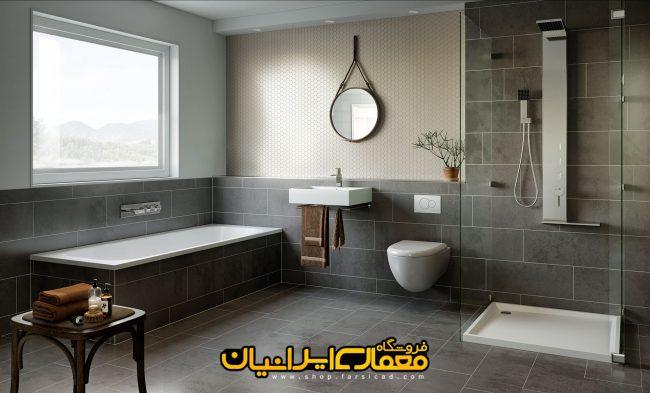 طراحی سرویس بهداشتی ایرانی - طراحی سرویس بهداشتی مدرن - طراحی حمام مدرن - سه بعدی سرویس بهداشتی - رندر تری دی مکس