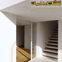 طراحی ویلای 150 متری دوبلکس بسیار زیبا ( نقشه ویلای ایرانی شیب دار شمال کشور ) 3