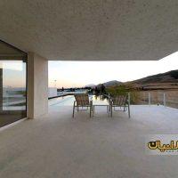 طراحی ویلای 150 متری دوبلکس بسیار زیبا ( نقشه ویلای ایرانی شیب دار شمال کشور ) 5