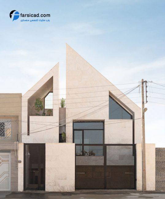 ویلا یزد - ویلاهای یزد - پلان خانه - نقشه خانه - طراحی ساختمان مسکونی
