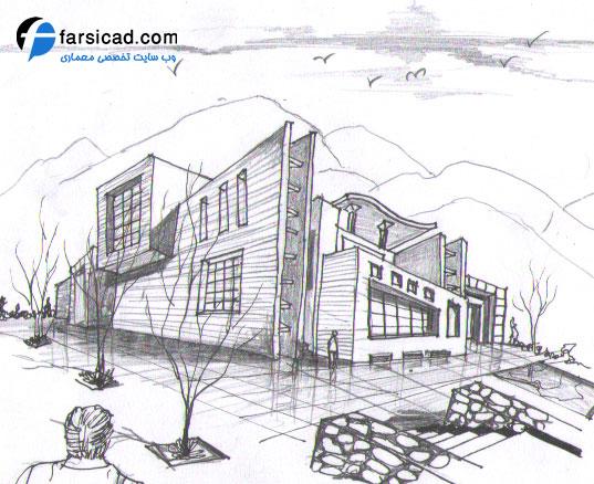 15 طرح برتر اسکیس و راندو ارشد معماری 6