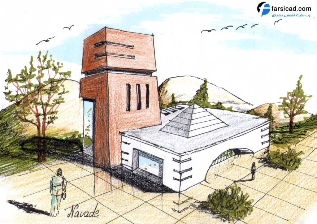 15 طرح برتر اسکیس و راندو ارشد معماری 1