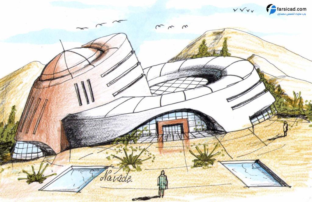 15 طرح برتر اسکیس و راندو ارشد معماری 5