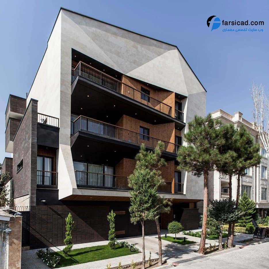 25 نمای ساختمان مسکونی ، آپارتمانی و ویلایی لوکس و لاکچری 6
