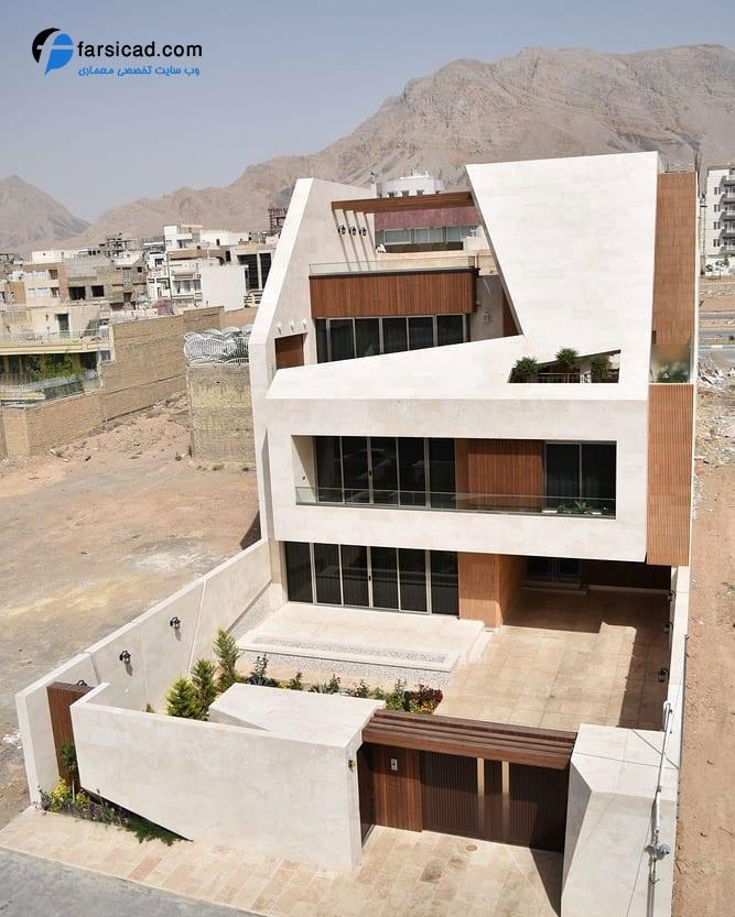 25 نمای ساختمان مسکونی ، آپارتمانی و ویلایی لوکس و لاکچری 2