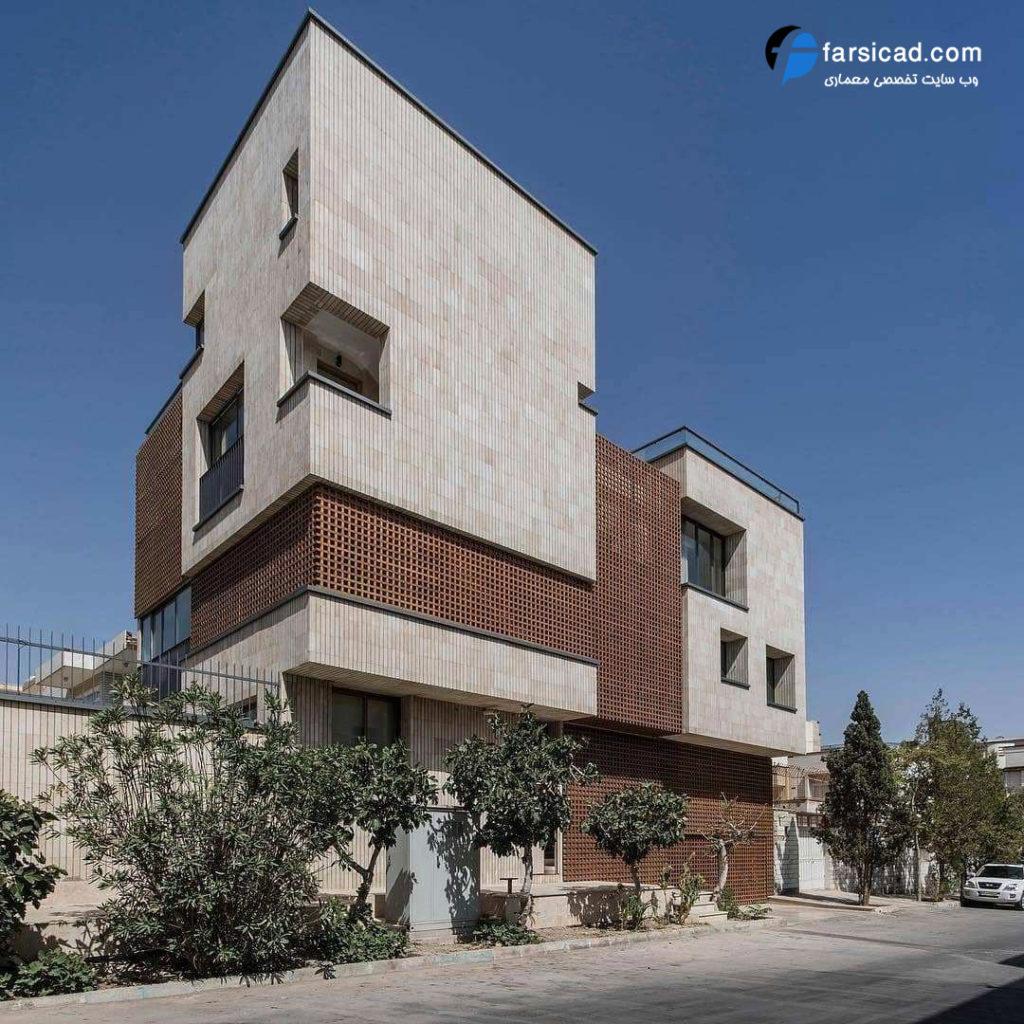 25 نمای ساختمان مسکونی ، آپارتمانی و ویلایی لوکس و لاکچری 4