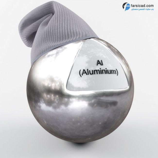 دانلود مجموعه فوق العاده متریال فلزات ( طلا ، نقره ، تیتانیوم ، آهن و ... ) 1