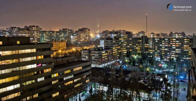 شهرک اکباتان تهران - مجتمع اکباتان تهران - شهرک آپادانا