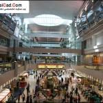 فرودگاه دبی ، بنایی زیبا با معماری روز دنیا 9