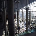 فرودگاه دبی ، بنایی زیبا با معماری روز دنیا 4