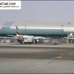 فرودگاه دبی ، بنایی زیبا با معماری روز دنیا 8