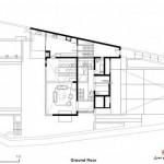 خانه ای برای یک معمار - عکس و پلان 26