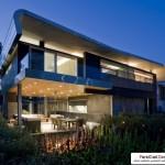 خانه شناور بنایی بسیار زیبا با سبک معماری پایدار ( سبز ) 2