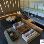 خانه شناور بنایی بسیار زیبا با سبک معماری پایدار ( سبز ) 7