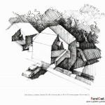 اسکیس در معماری (بهمراه نمونه طرح های دانشجویی) 11