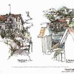 اسکیس در معماری (بهمراه نمونه طرح های دانشجویی) 13