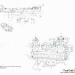 اسکیس در معماری (بهمراه نمونه طرح های دانشجویی) 18