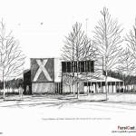 اسکیس در معماری (بهمراه نمونه طرح های دانشجویی) 19
