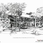اسکیس در معماری (بهمراه نمونه طرح های دانشجویی) 21