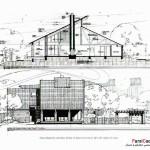 اسکیس در معماری (بهمراه نمونه طرح های دانشجویی) 5