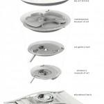 طرح موزه هنرهای معاصر به همراه پلان و نقشه های معماری 14