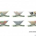 طرح موزه هنرهای معاصر به همراه پلان و نقشه های معماری 10