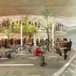 طرح موزه هنرهای معاصر به همراه پلان و نقشه های معماری 4