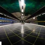 تصاویر ایستگاه متروی شگفت انگیز استکهلم سوئد ( ترکیب هنر و معماری ) 3