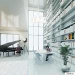 طرح برج های دوقلوی سئول + (عکس)  10