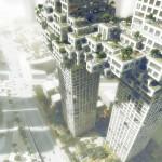 طرح برج های دوقلوی سئول + (عکس)  8